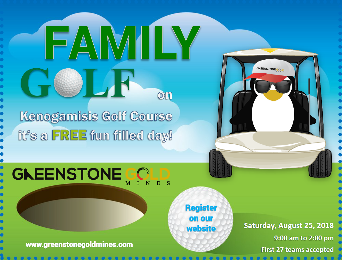 family-golf-day-poster